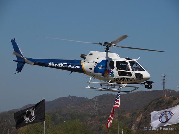 N358TV leaving American Heroes Airshow 2012