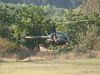 N482SH, Robinson R22 landing at Hansen Dam for American Heroes Air Show 2012.