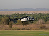 N6197N, Bell 206-L4 used by CHP landing at Hansen Dam for American Heroes Air Show 2012.