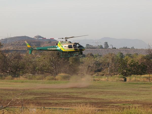 N956LA landing at the 2014 AHAS Los Angeles