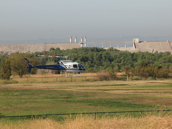 N30NT landing at the 2014 AHAS Los Angeles