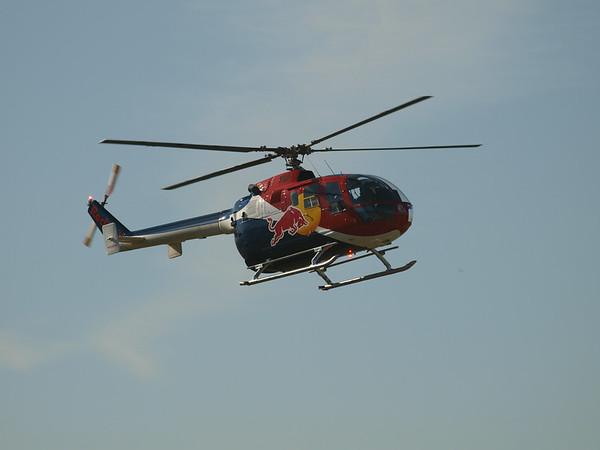 N154EH arriving at the 2014 AHAS Los Angeles