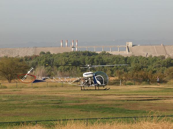 N4262Y landing at the 2014 AHAS Los Angeles