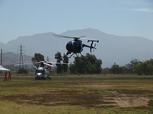 N501RM landing at the 2014 AHAS Los Angeles