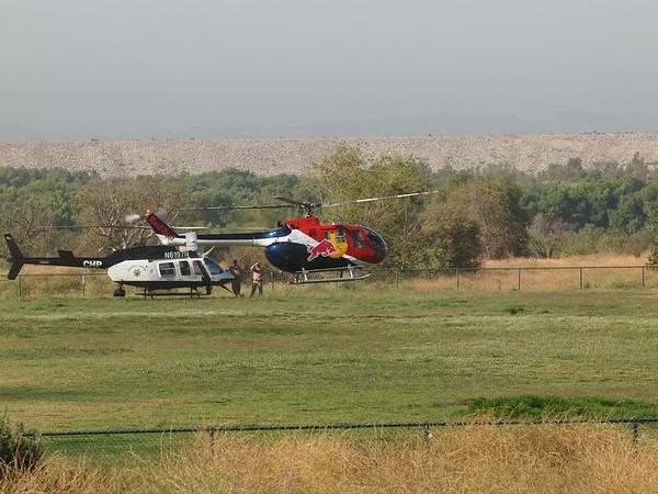 N154EH landing at the 2014 AHAS Los Angeles