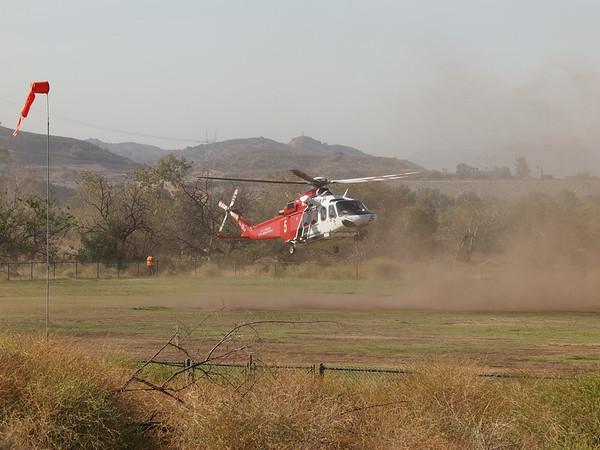 N305FD landing at the 2014 AHAS Los Angeles