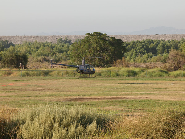 N853RS landing at the 2014 AHAS Los Angeles