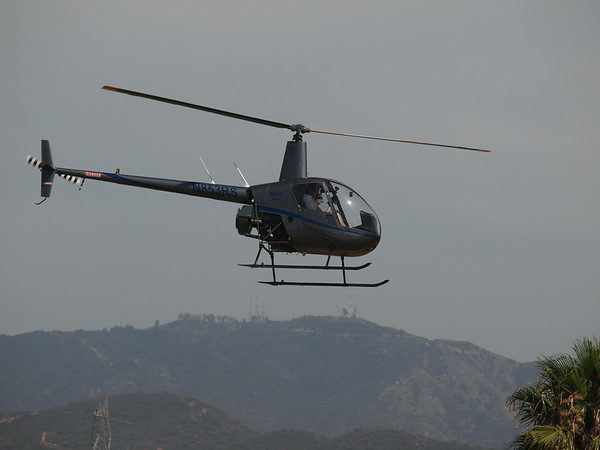 N853RS leaving the 2014 AHAS Los Angeles