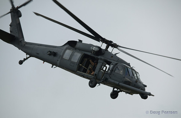 Blackhawk helicopter at the American Heros Airshow June 24, 2006
