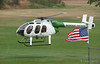 US Border Patrol helicopter at the American Heros Airshow June 24, 2006
