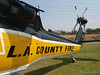 Close up of copter 19 at 2008 Heroes Airshow, Hansen Dam, Los Angeles