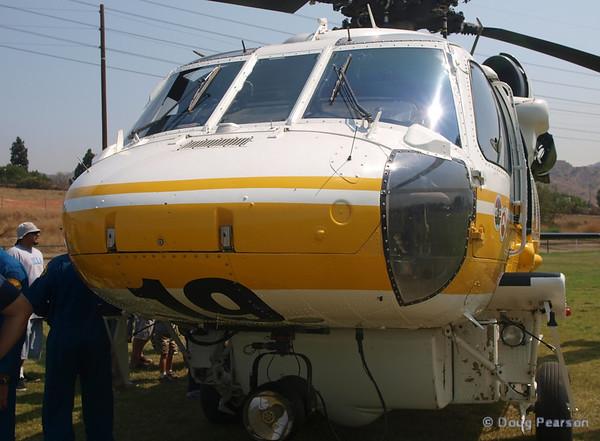 LA County copter 19 at 2008 Heroes Airshow, Hansen Dam, Los Angeles