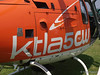 KTLA telecopter at 2008 Heroes Airshow, Hansen Dam, Los Angeles