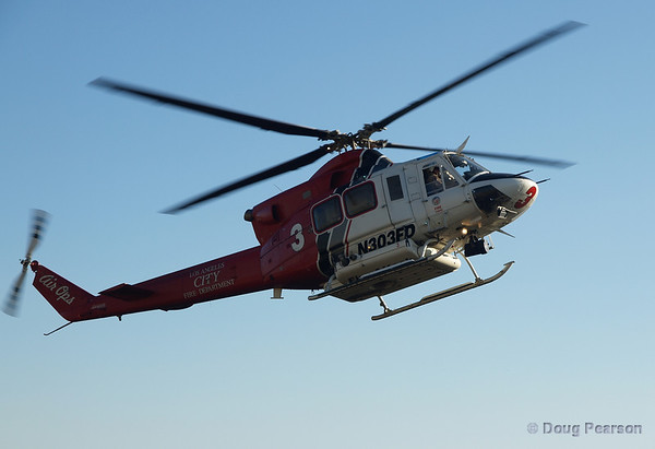 LA City Fire 3 Helicopter