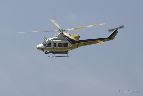 LA County Fire Department  Copter 18