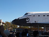 In no danger of getting a ticket, Endeavour passes a 5 MPH speed limit.
