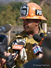 Press conference at a Brush fire near Travel Town in Griffith Park, Los Angeles, CA