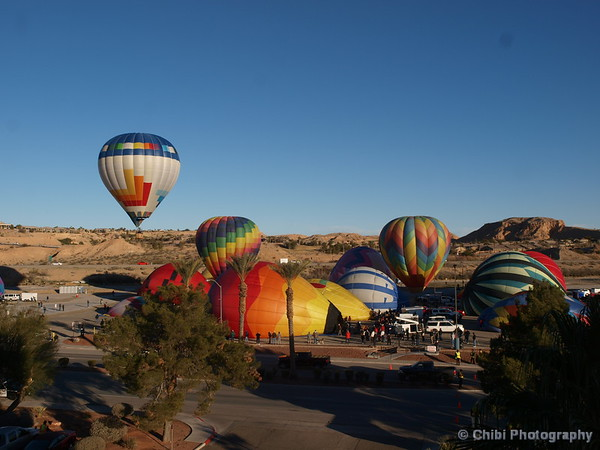 Mesquite Balloon Festival 2019, CzechItOut departing