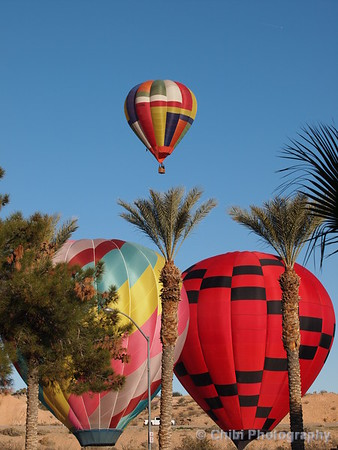 Mesquite Balloon Festival 2019, Our Treat, Twister & Smiley's Dream