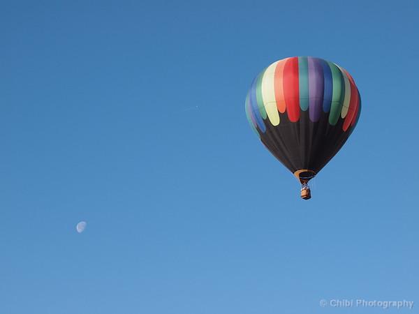 Mesquite Balloon Festival 2019, Moon and Spilt Paint