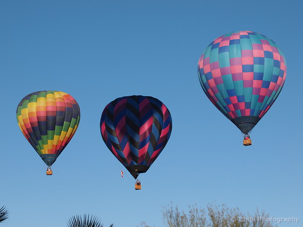 Mesquite Balloon Festival 2019, Gypsy Rover, Purple Haze & Richard Glas