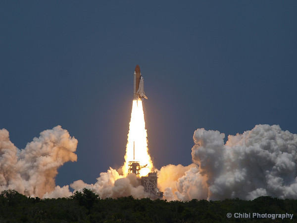 Space Shuttle Atlantis, Orbiter Vehicle-104 (OV-104) on STS-132 mission lifts off from NASA KSC Pad 39A enroute to the International Space Station. May 14, 2010