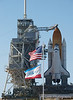 Space Shuttle Atlantis, Orbiter Vehicle-104 (OV-104) on Launch Pad 39 A preparing for the Shuttle Transportation System (STS-132) mission to the International Space Station. May 13, 2010