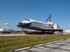 Space Shuttle Atlantis is going to the VAB for the last time.
