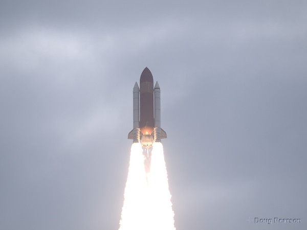 Endeavour launches on STS-134