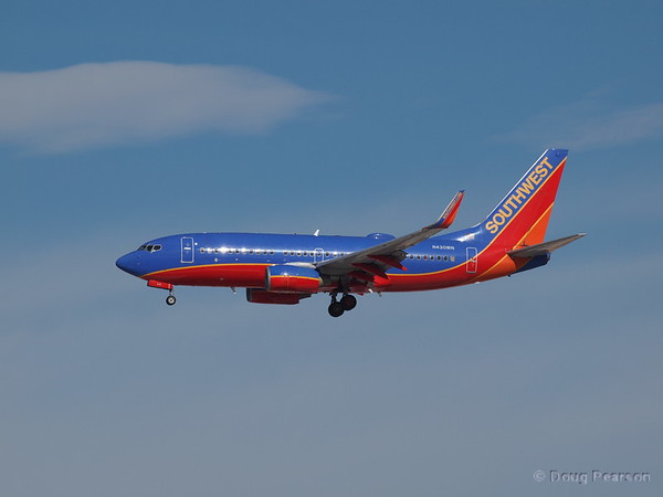 Southwest Airlines, N430WN, a Boeing 737-7H4.