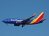 Southwest N7824A, a Boeing 737-7BK at KLAS