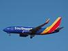 Southwest N7824A, a Boeing 737-7BK at KLAS