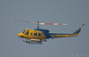 Ventura County Sheriffs fire support Helicopter 6 arriving, 2008 Heros Airshow, Hansen Dam, Los Angeles