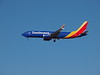 Southwest N8727M, a Boeing 737-8 at KLAS