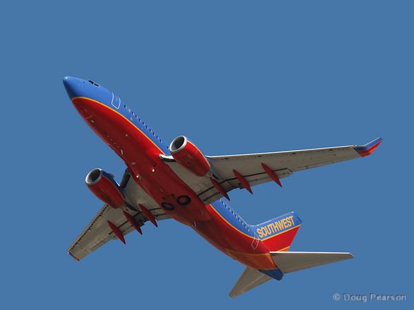 A Southwest 737
