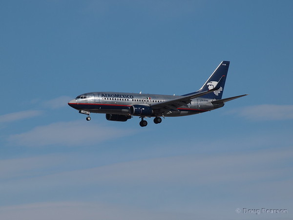 AeroMexico, XA-PAM, a Boeing 737-752