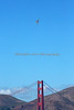 USAF - Northrop Grumman B-2 Spirit - Stealth Bomber, flying over the Golden Gate Bridge (2012)