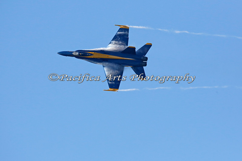 Vapor trails.......of a Blue Angel (2012)