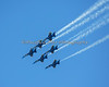 Blue Angels in Delta formation (2012)
