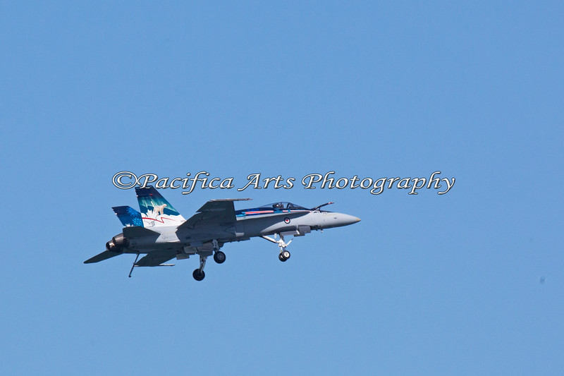 Royal Canadian Air Force F-18 Hornet (2012)