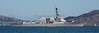"Panorama of the ""USS Spruance"" in the Parade of Ships in the San Francisco Bay."