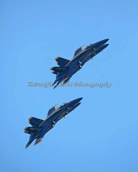 Two Blue Angels...no wait - that's Four Blue Angels! (2012)