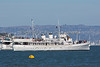 "The ""USS Potomac"", out of Oakland, cruising around in the San Francisco Bay, watching the Fleet Week event."