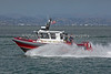 The Tiberon Fire Rescue boat.  There were police and fire boats all over the bay during the Fleet Week shows.