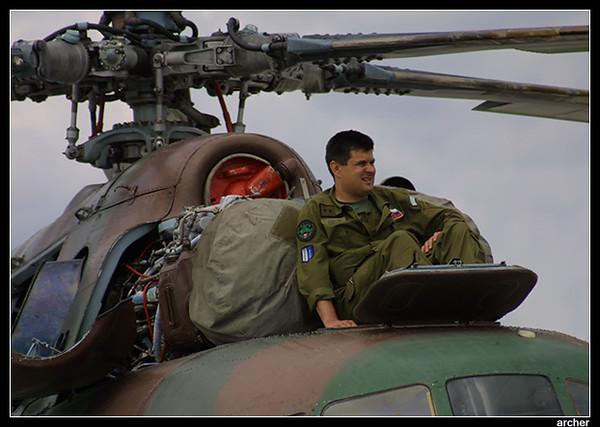 Pilot on rest