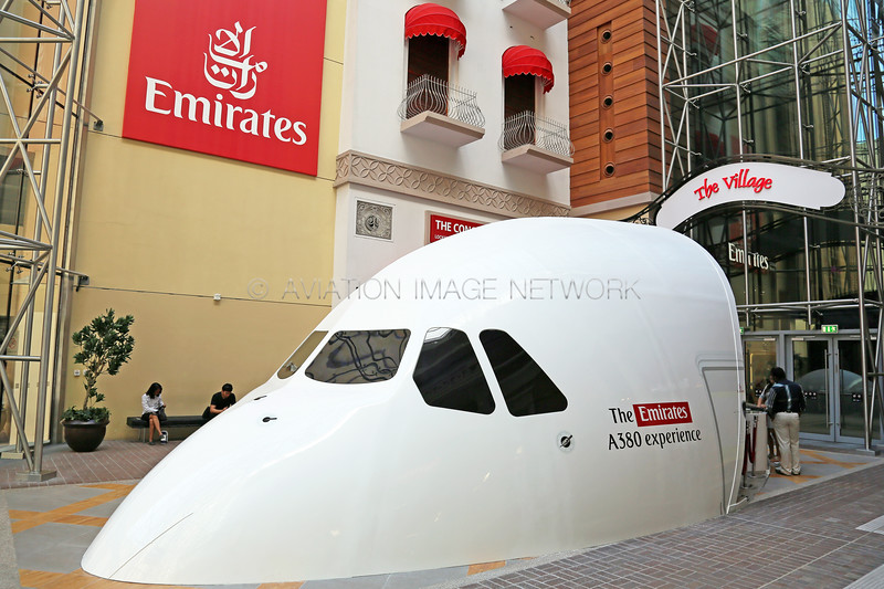 The Emirates A380 Experience Dubai Mall