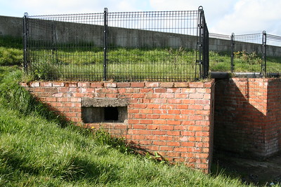 Multiple Pillbox on the south perimeter of Ards Airfield.