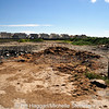 Runway destruction at Ballyhalbert Airfield.