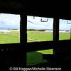 View from the derelict Watch Office, Ballyhalbert Airfield.