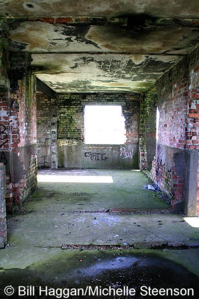 Inside the Watch Office. Ballyhalbert Airfield.